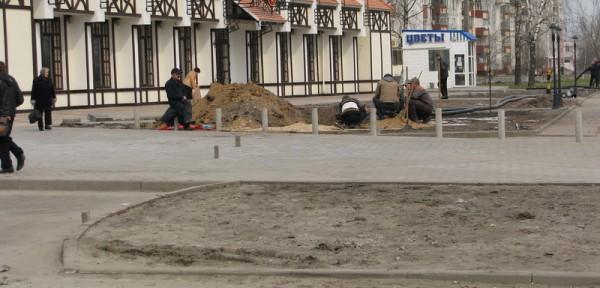 г. Брянск - второй прокол возле ресторана «Августин»