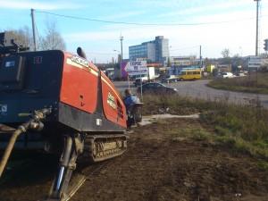Переход трубопровода через автодорогу по ул. Гремяченская г. Курск.